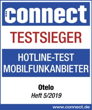 Connect Gütesiegel Hotline